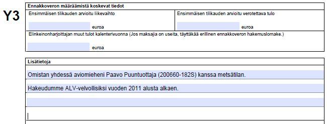 Alv rekisteriin ilmoittautuminen toiminimi